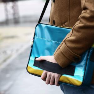 Sacoche Bilum - sacs et accessoires upcyclés
