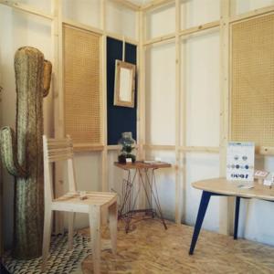 meubles éco-conçus en bois recyclé