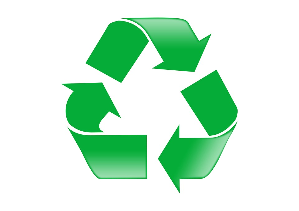 L'Anneau de Möbius indique le produit est recyclable