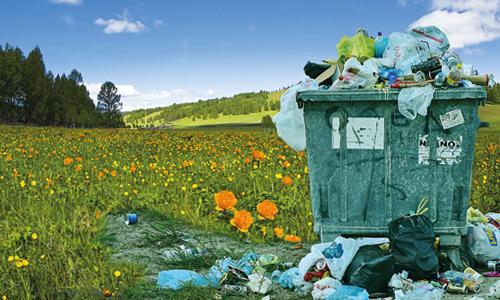Le recyclage permet d'économiser de la matière première et donc de préserver les ressources naturelles de notre planète