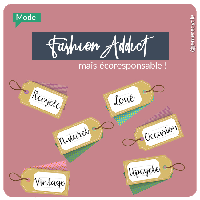 fashionista écolo - Fashion-Addict mais écoresponsable !