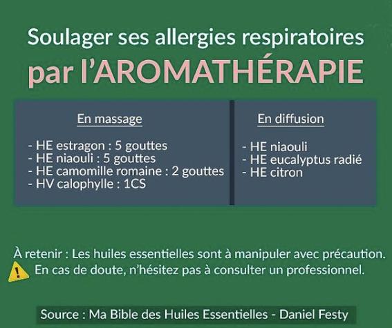 Soulager les allergies respiratoires par l'aromathérapie