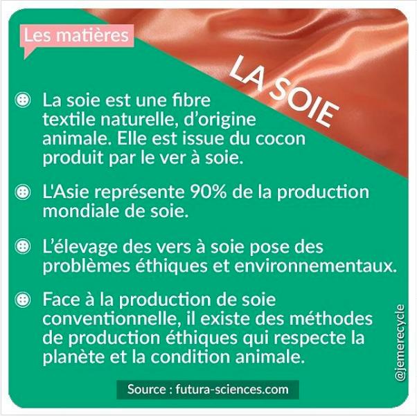 matières naturelles - la soie