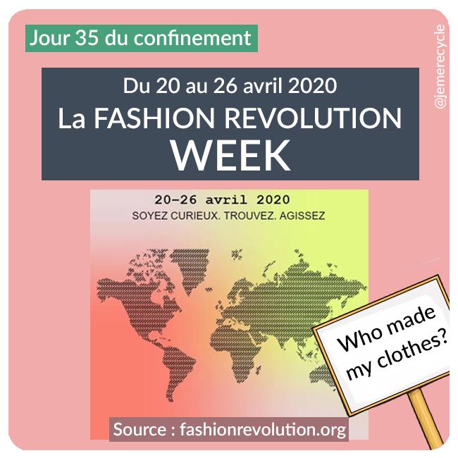 événements anti Fashion-Week - fashion revolution week