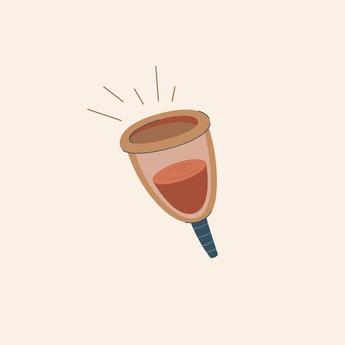 règles zéro déchet - cup menstruelle