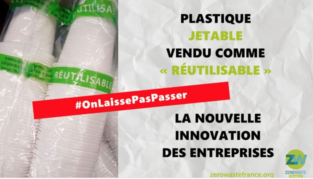 du plastique jetable vendu comme réutilisable - zéro waste france - pourquoi faut-il arrêter les pailles en plastique