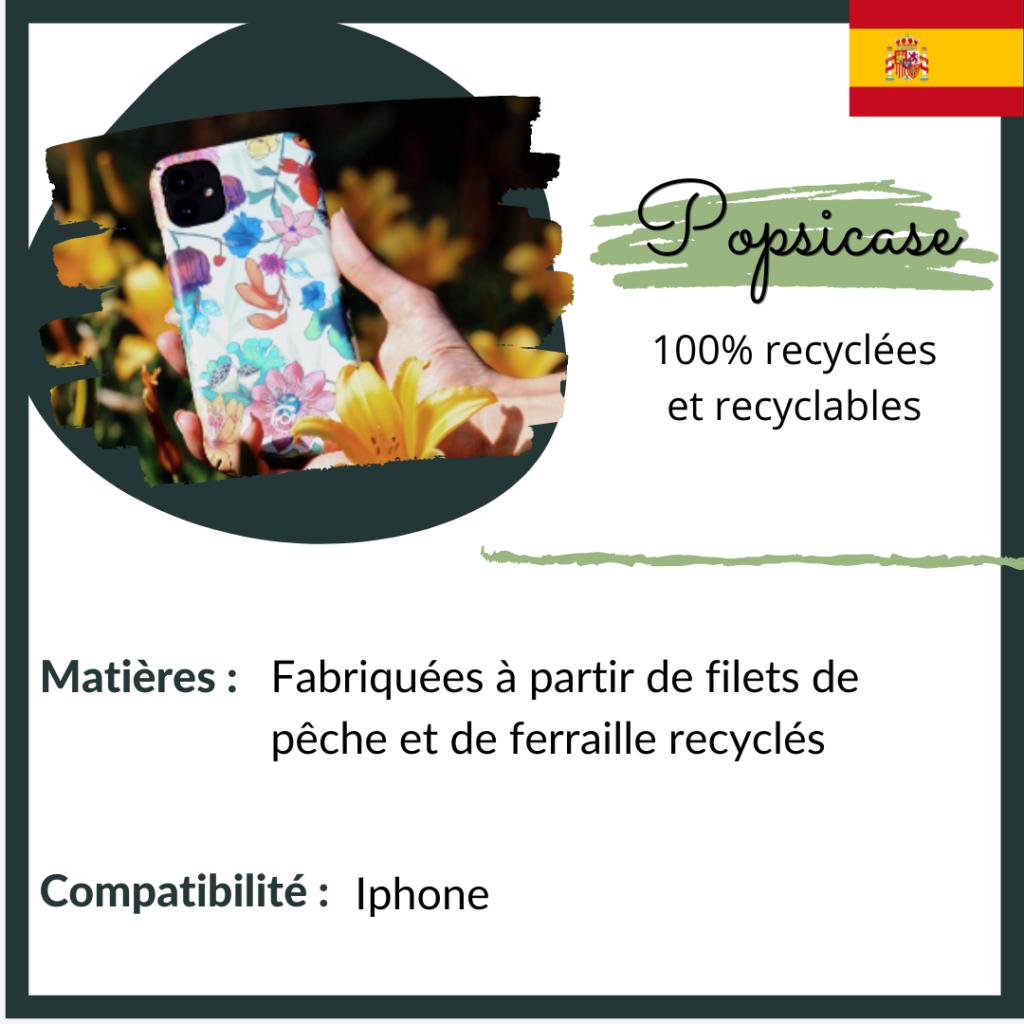popsicase - coques recyclées et recyclables