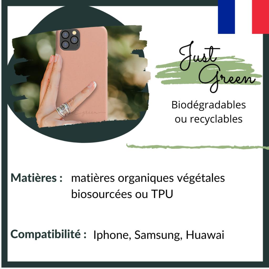 Just Green - coques biodégradables