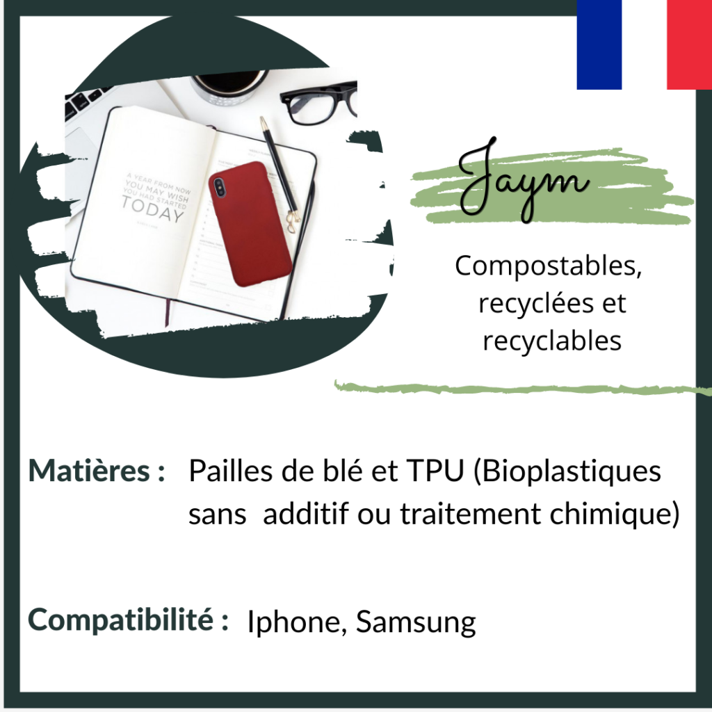 Jaym - coques compostables