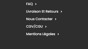 Vérifier si la marque est fiable : les CGV et CGU