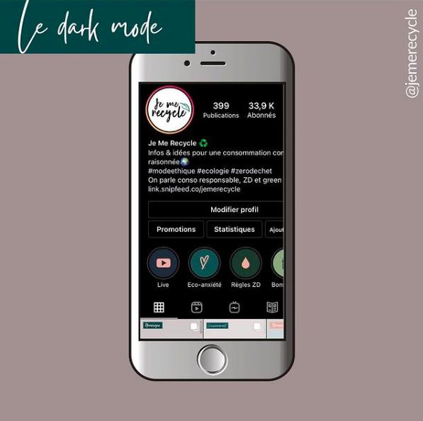 Prolonger la vie d'un smartphone - mettre son téléphone en dark mode