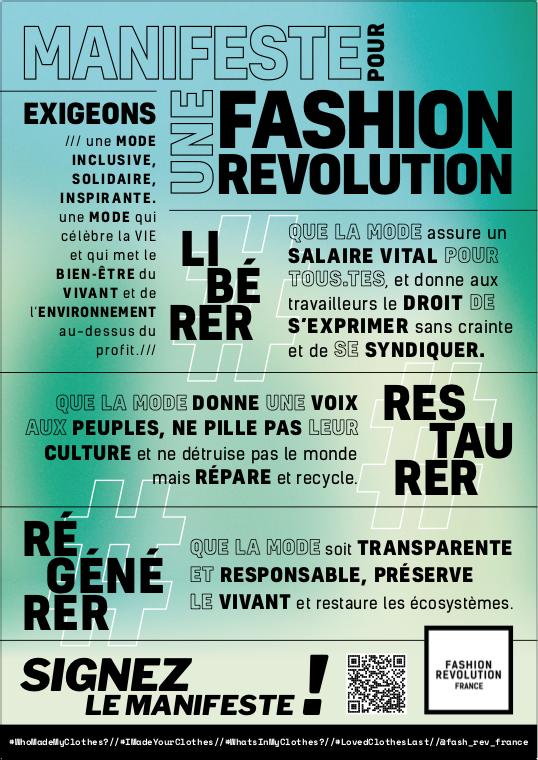 Fashion Revolution affiche
